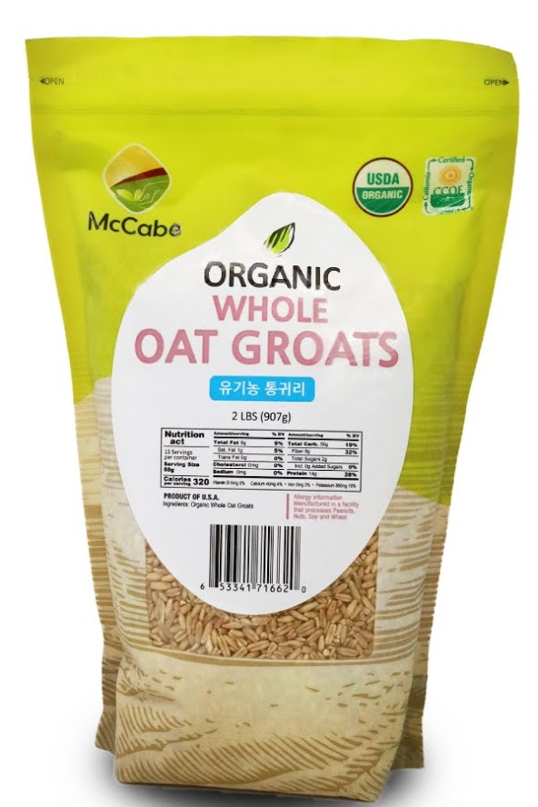 McCabe | McCabe Organic Whole Oat Groats 2lb